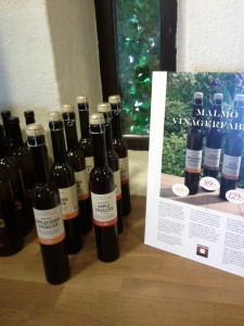 Vinäger från Malmö vinägerfabrik på Olof Victors